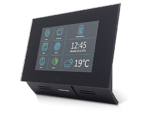 2N Indoor Touch poe, Wifi schwarz